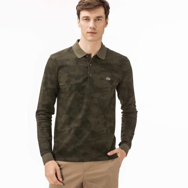 Lacoste Men's Regular Fit Merino Wool Polo