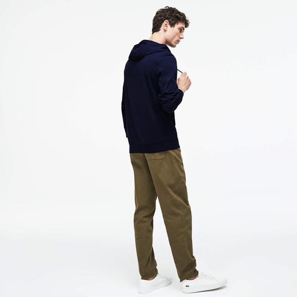 Lacoste Men's Hooded Cotton Sweatshirt