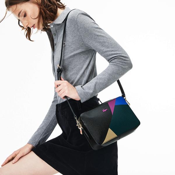 Lacoste Women's Chantaco Fantaisie Colorful Cross Bag