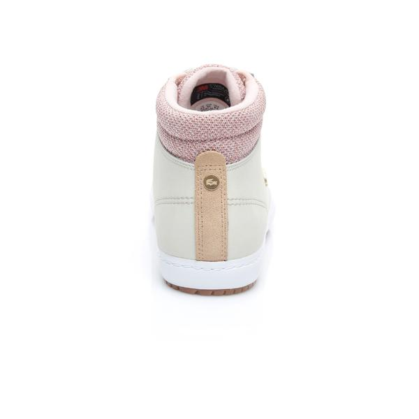 Lacoste Women's Straightset Leather Sneakers