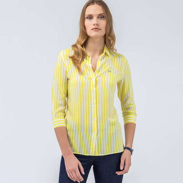 Lacoste Women's Long Sleeve Wovens Shirt