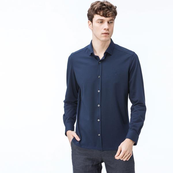 Men's Lacoste Slim Fit Button-Down Collar Shirt