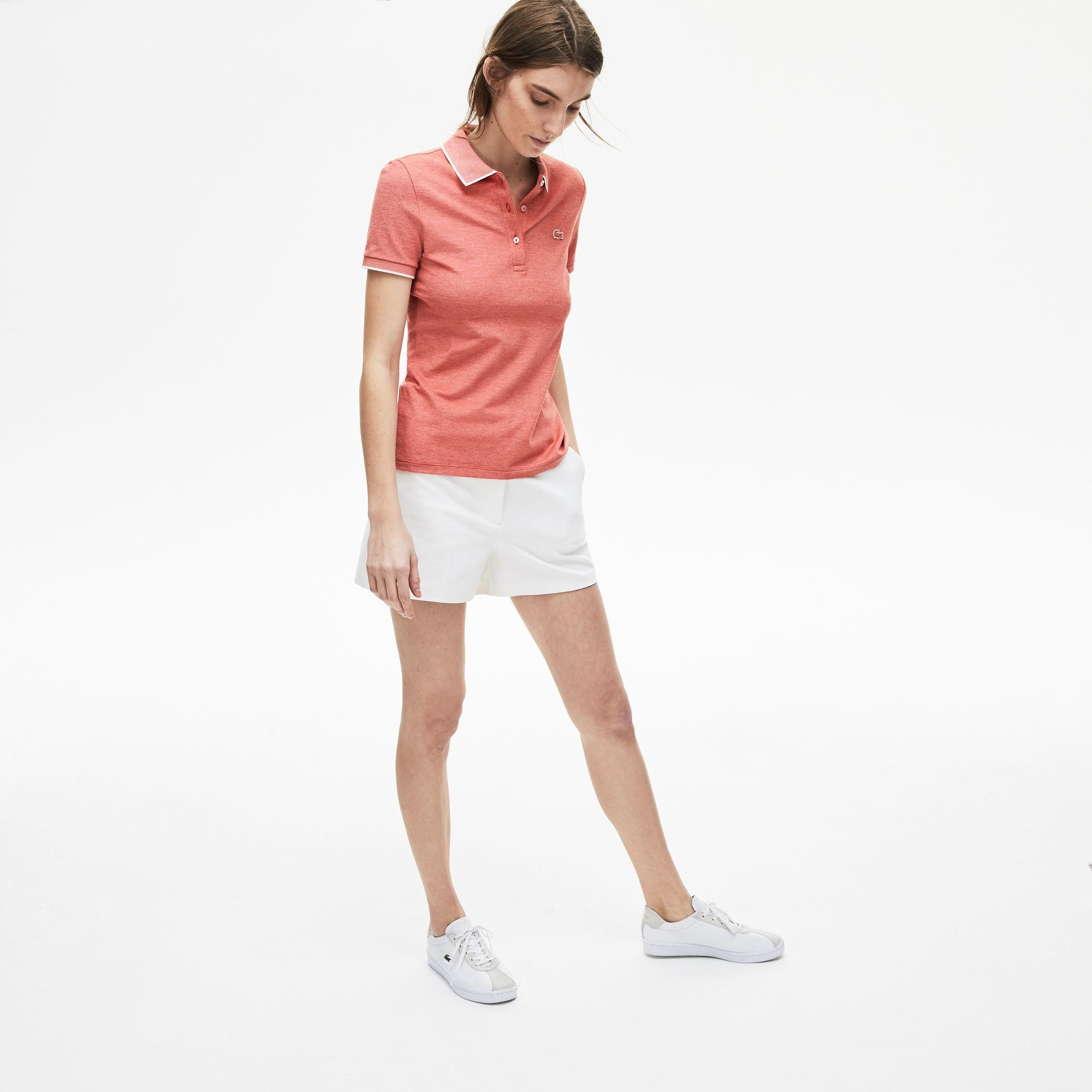 Lacoste Women's Short Sleeve Polo