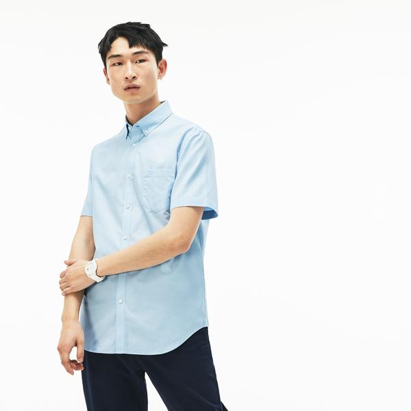 Lacoste Men's Regular Fit Mini Piqué Shirt