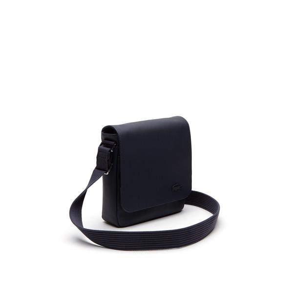 Lacoste Men's Classic Petit Piqué Flap Bag