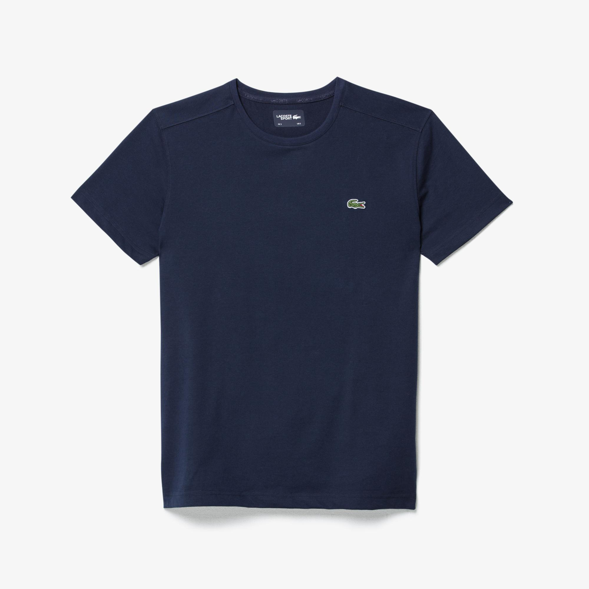 Lacoste Sport Men's Crew Neck Technical Cotton Tennis T-Shirt
