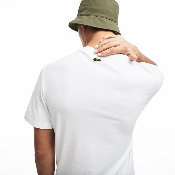 Lacoste Men's Crew Neck Cotton T-Shirts