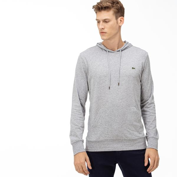 Lacoste Men's Hooded Cotton T-shirt