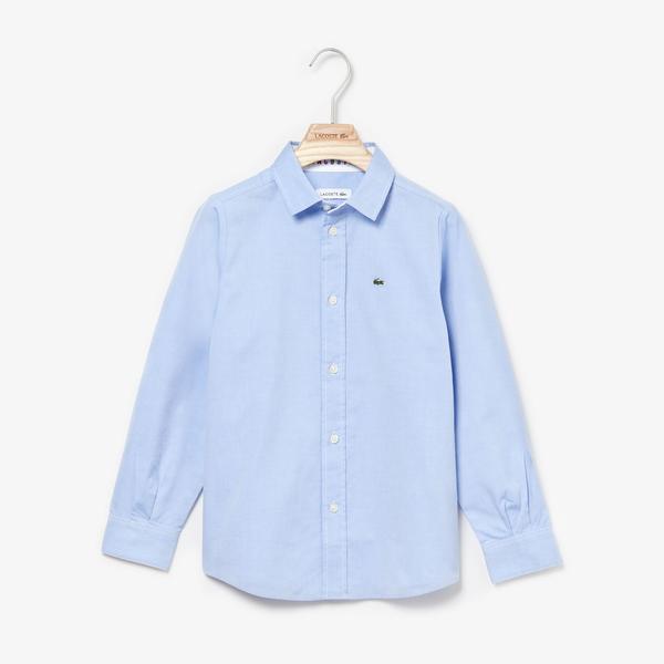 Lacoste Children L/S woven shirt