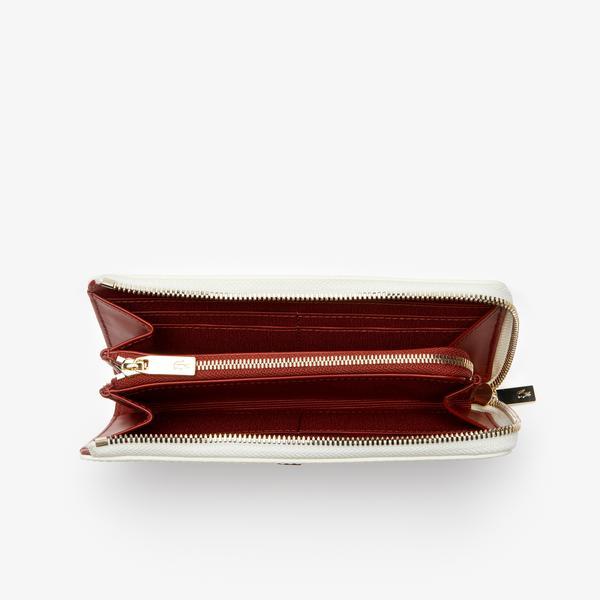 Women's Chantaco Piqué Leather 8 Card Wallet