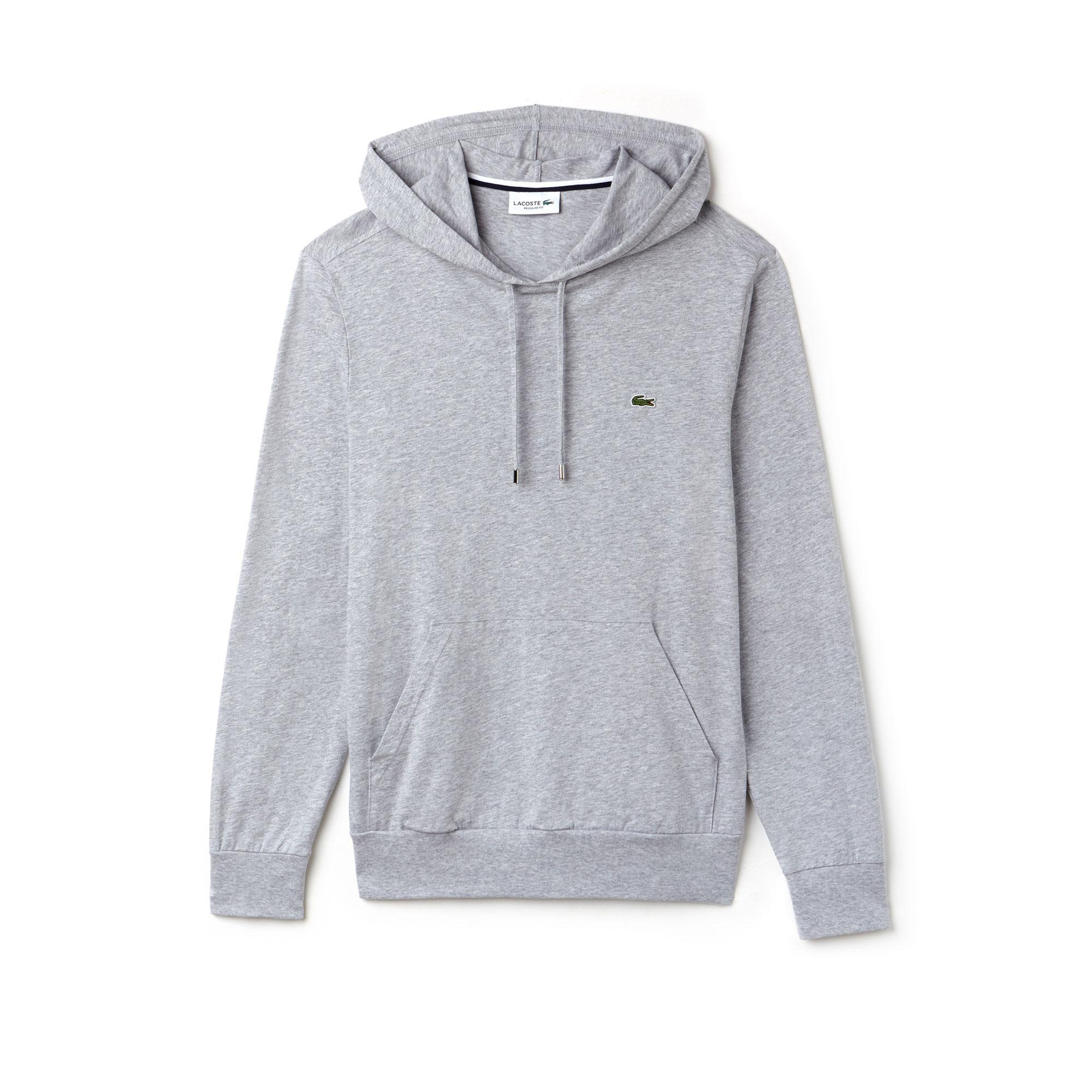 Lacoste Men's Hooded Cotton T-shirt