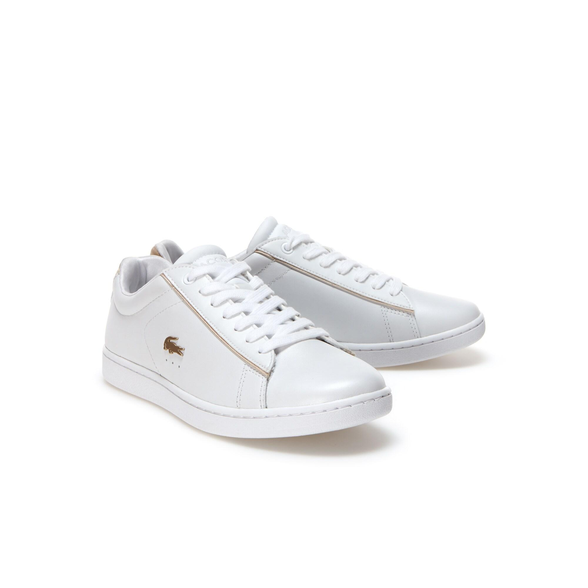Lacoste Women's Carnaby Evo 118 6 Spw Leather Sneakers