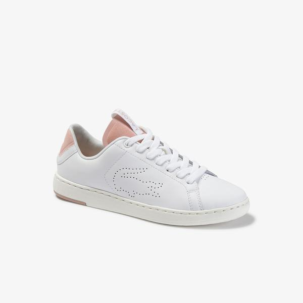 Lacoste Women's Carnaby Evo Light-Wt 1201 Leather Sneakers