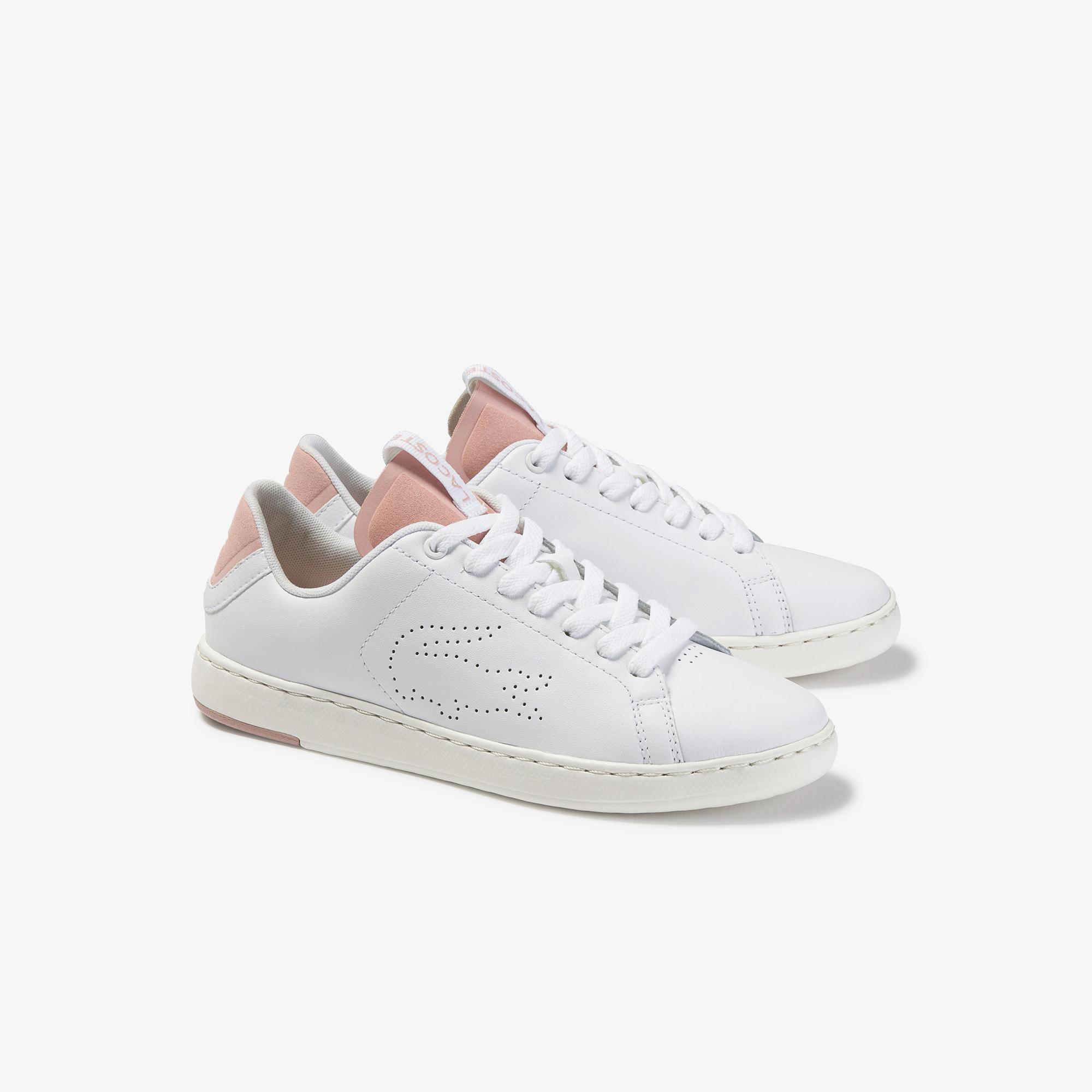 Lacoste Women's Carnaby Evo Light-Wt 1201 Leather Sneakers
