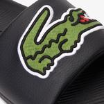 Lacoste Men's Croco Synthetic Slides