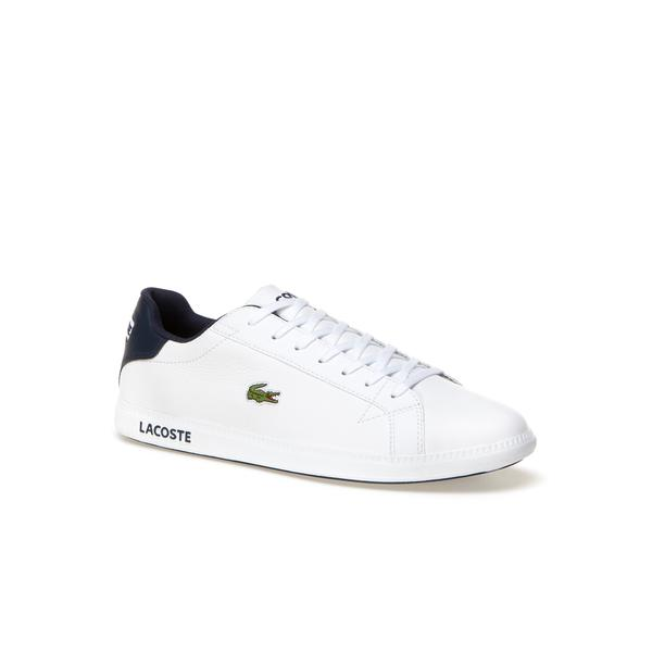 Lacoste Men's Graduate Premium Leather Sneakers