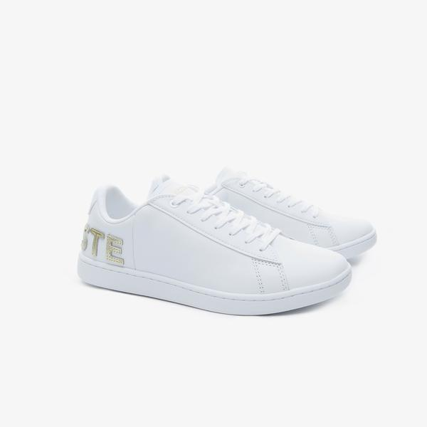 Lacoste Women's Carnaby Evo 120 6 Us Sfa Leather Sneakers