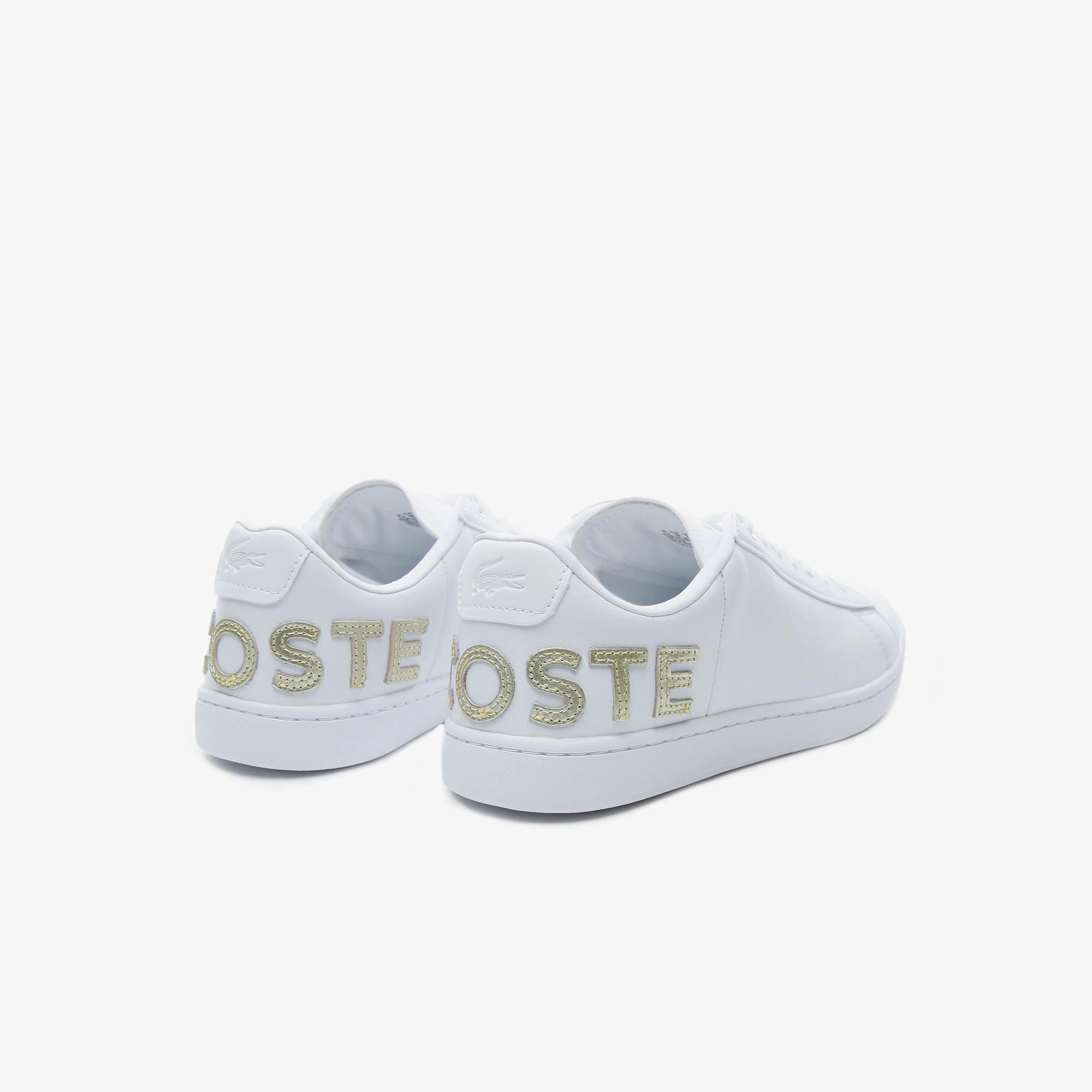 Lacoste Women's Carnaby Evo 120 6 Us Sfa Leather Sneakers