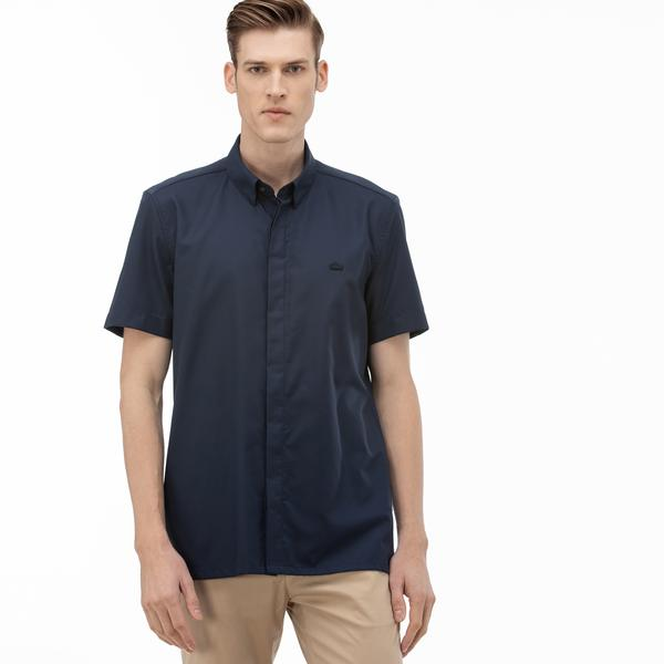 Lacoste Men's Slim Fit Short Sleeve Shirt