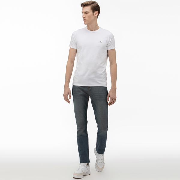 Lacoste Men's Slim Fit Denim Trousers