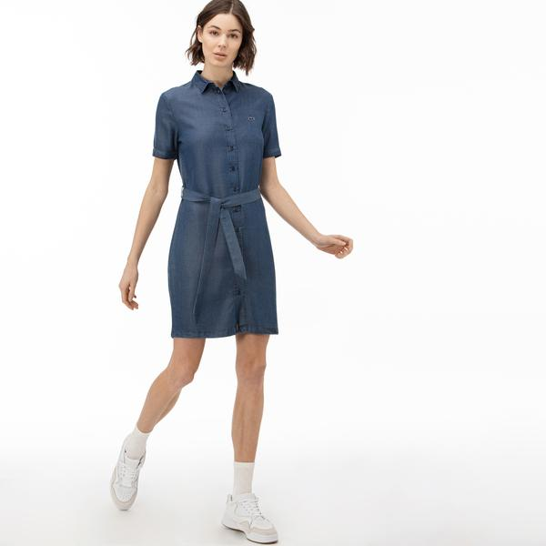 Lacoste Women's Short Sleeve Dress