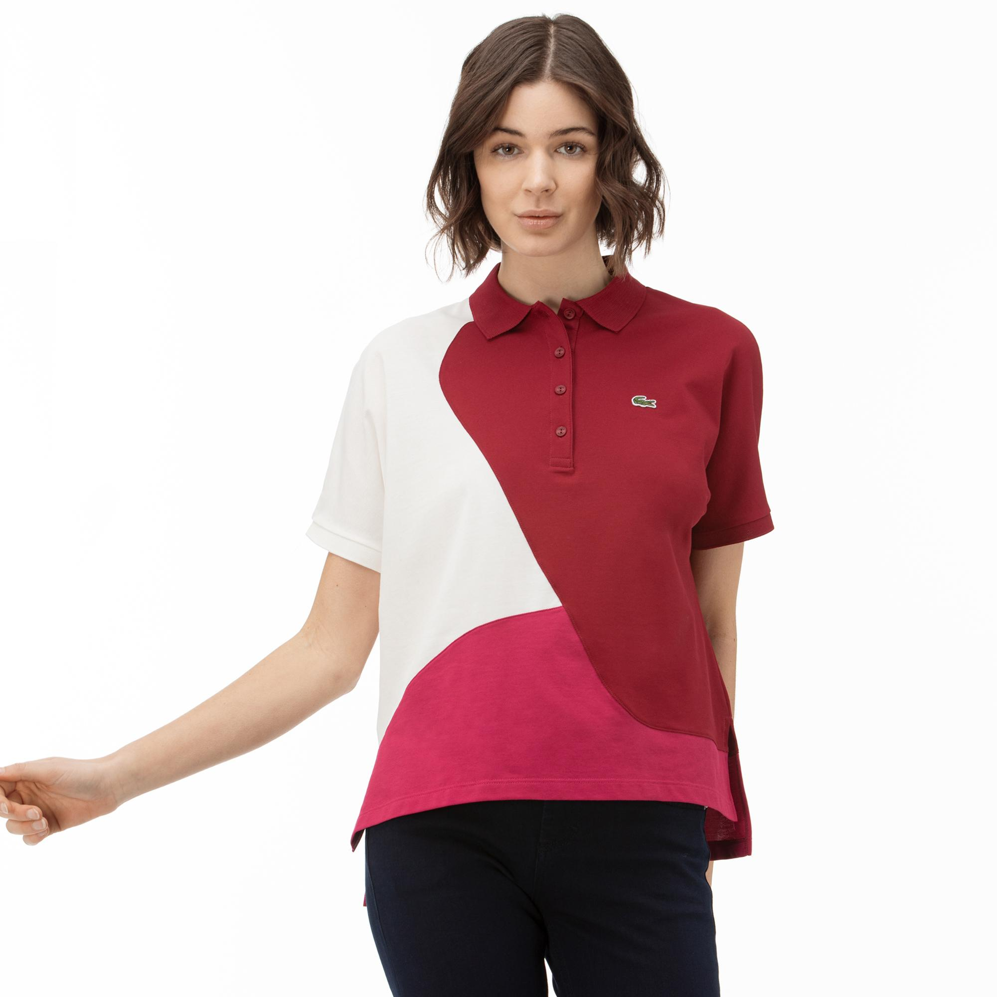 Lacoste Women's Colourblock Thermoregulating Piqué Polo