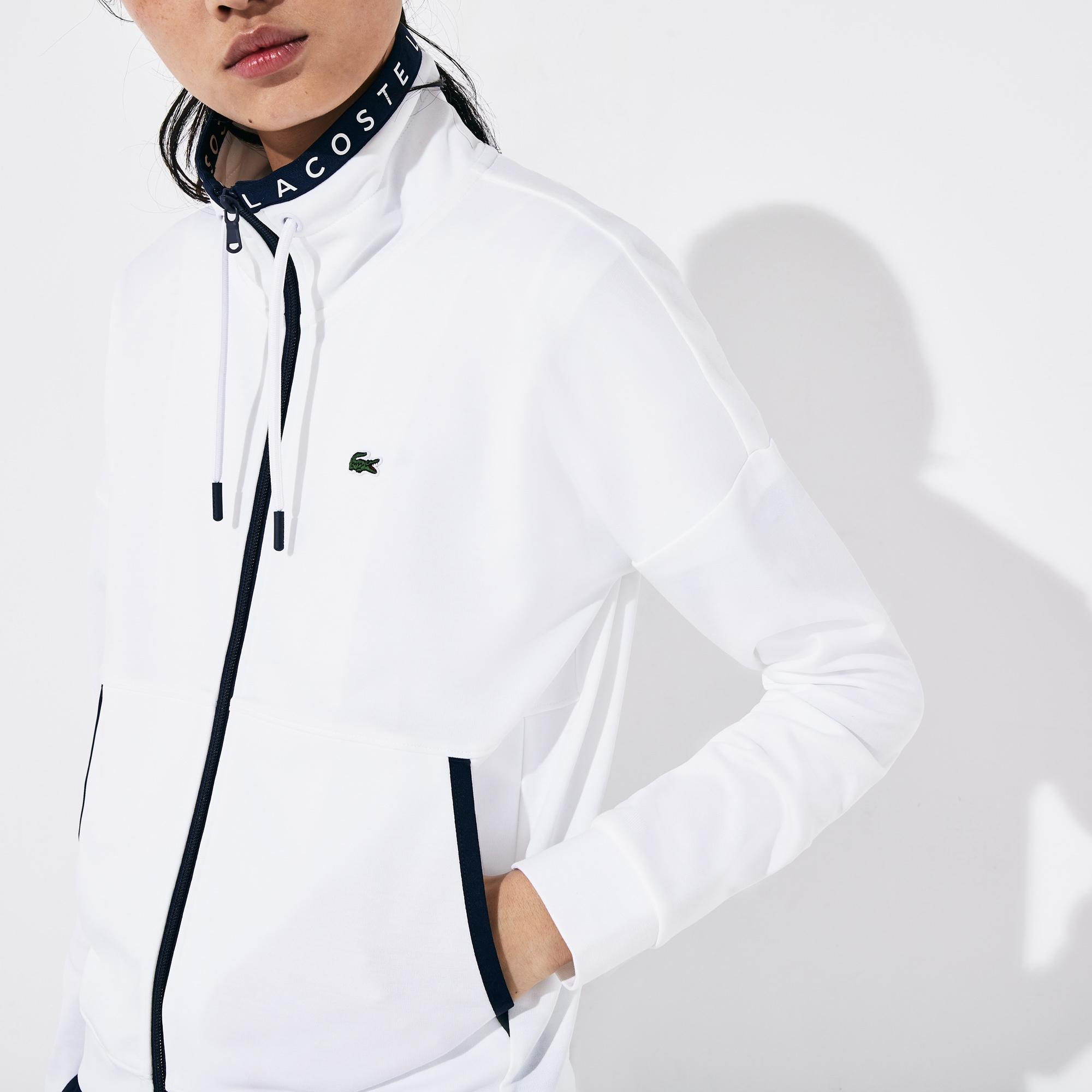 Lacoste Women's SPORT Zip-Up Tennis Sweatshirt
