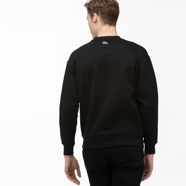 Lacoste LIVE Unisex Signature Texturized Fleece Sweatshirt