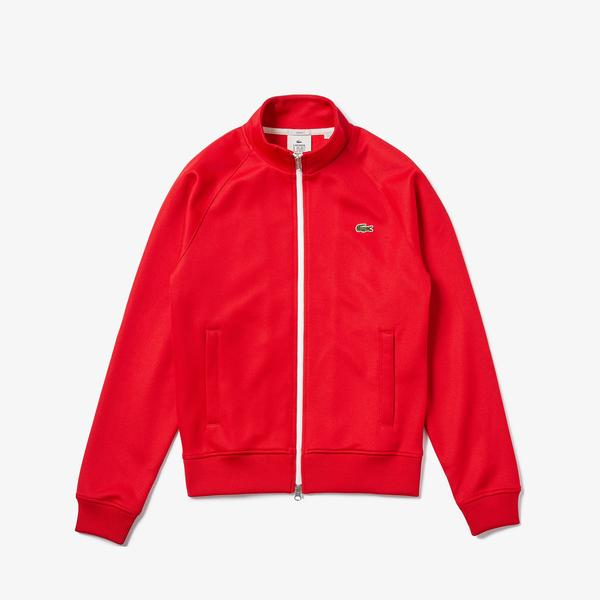 Lacoste L!VE Men's Print Back Tracksuit Jacket
