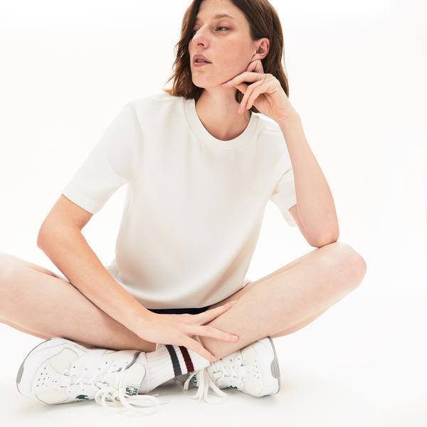 Lacoste Women's Twill T-Shirt