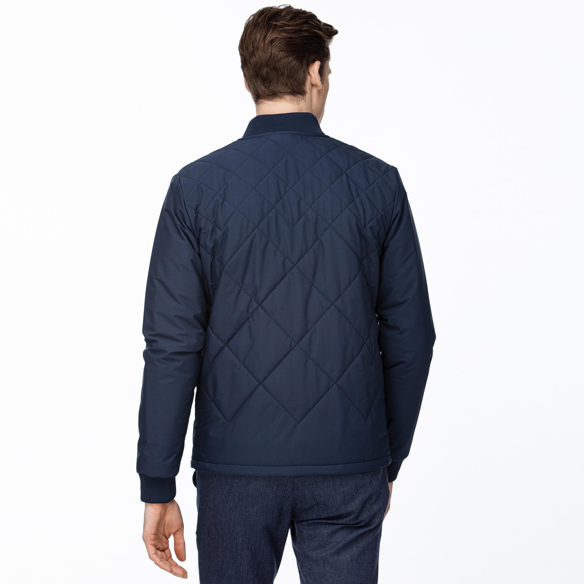 Lacoste Men's Quilted Zipped Sweatshirt