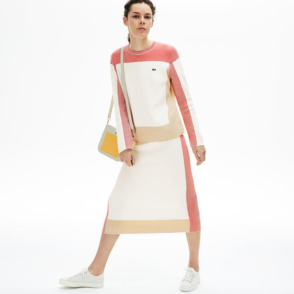 Lacoste Women's Colourblock Pencil Skirt
