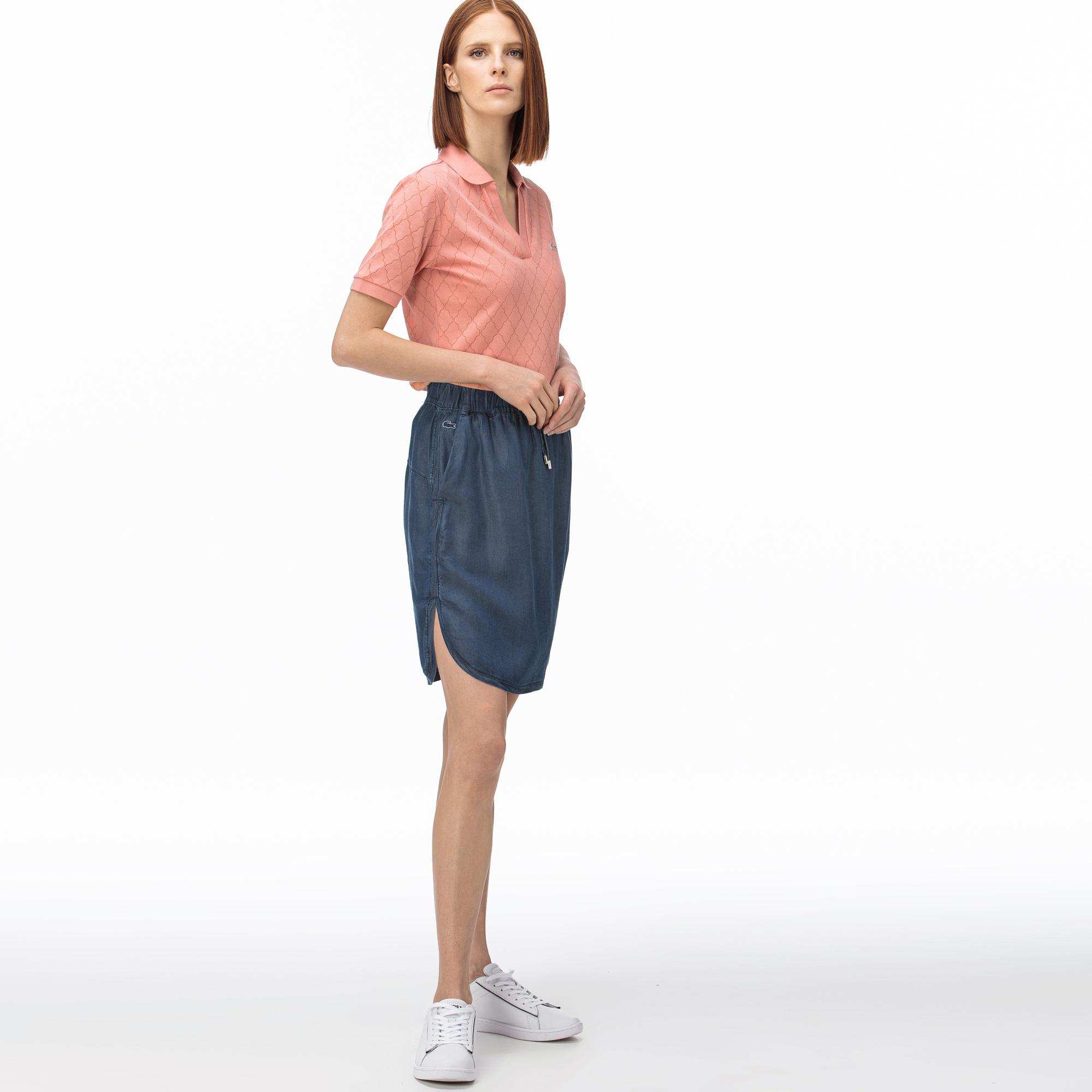 Lacoste Women's Denim Skirt