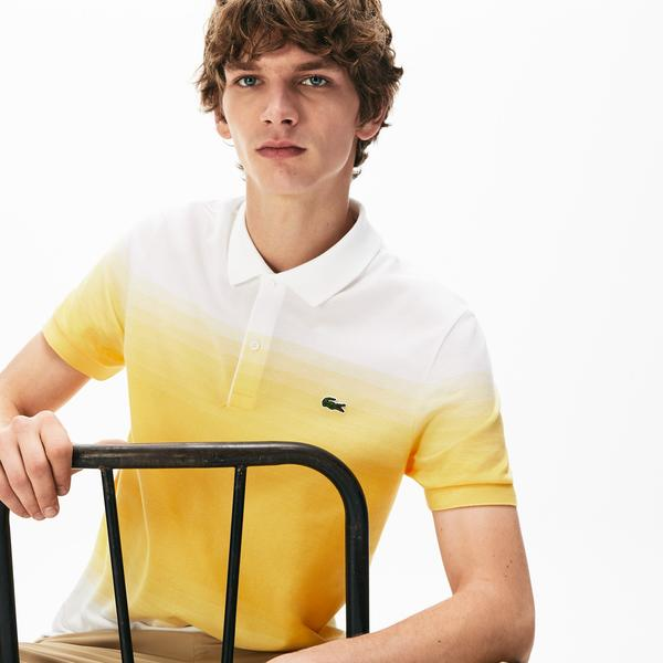 Lacoste Men's Made İn France Cotton Piqué Regular Fit Polo