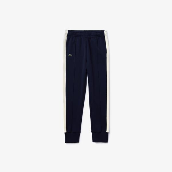 Lacoste Boy's Cotton-Blend Trackpants