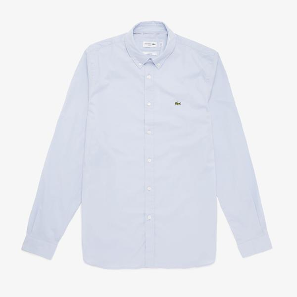 Lacoste Men's Soft Cotton Poplin Shirt