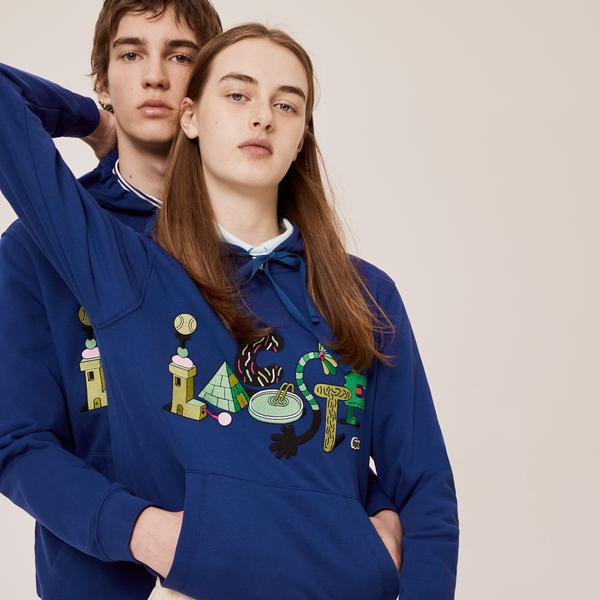 Lacoste Men's Graphic Hooded Sweatshirt