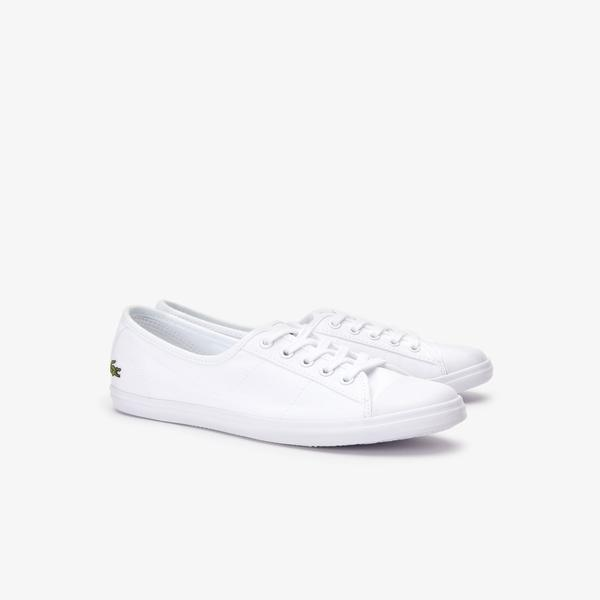 Lacoste Women's Ziane Canvas Sneakers