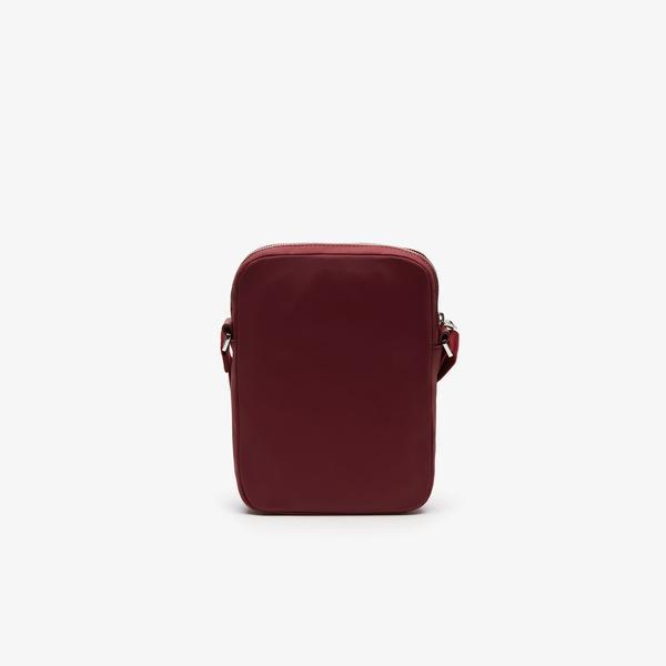 Lacoste Men's L.12.12 Signature Leather Belt Bag
