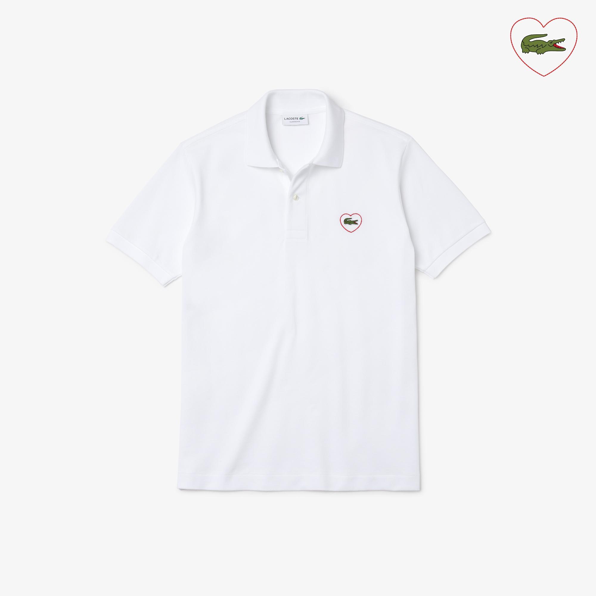 Lacoste Unisex L.12.12 Merci Polo in cotton piqué