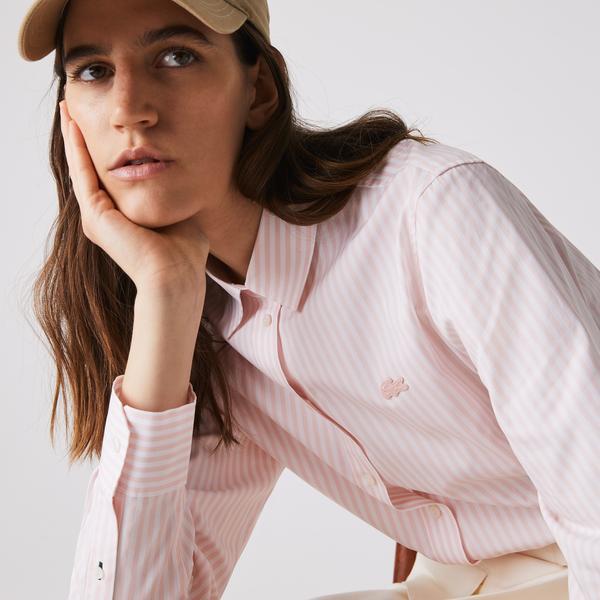 Lacoste Women's Cotton Poplin Shirt