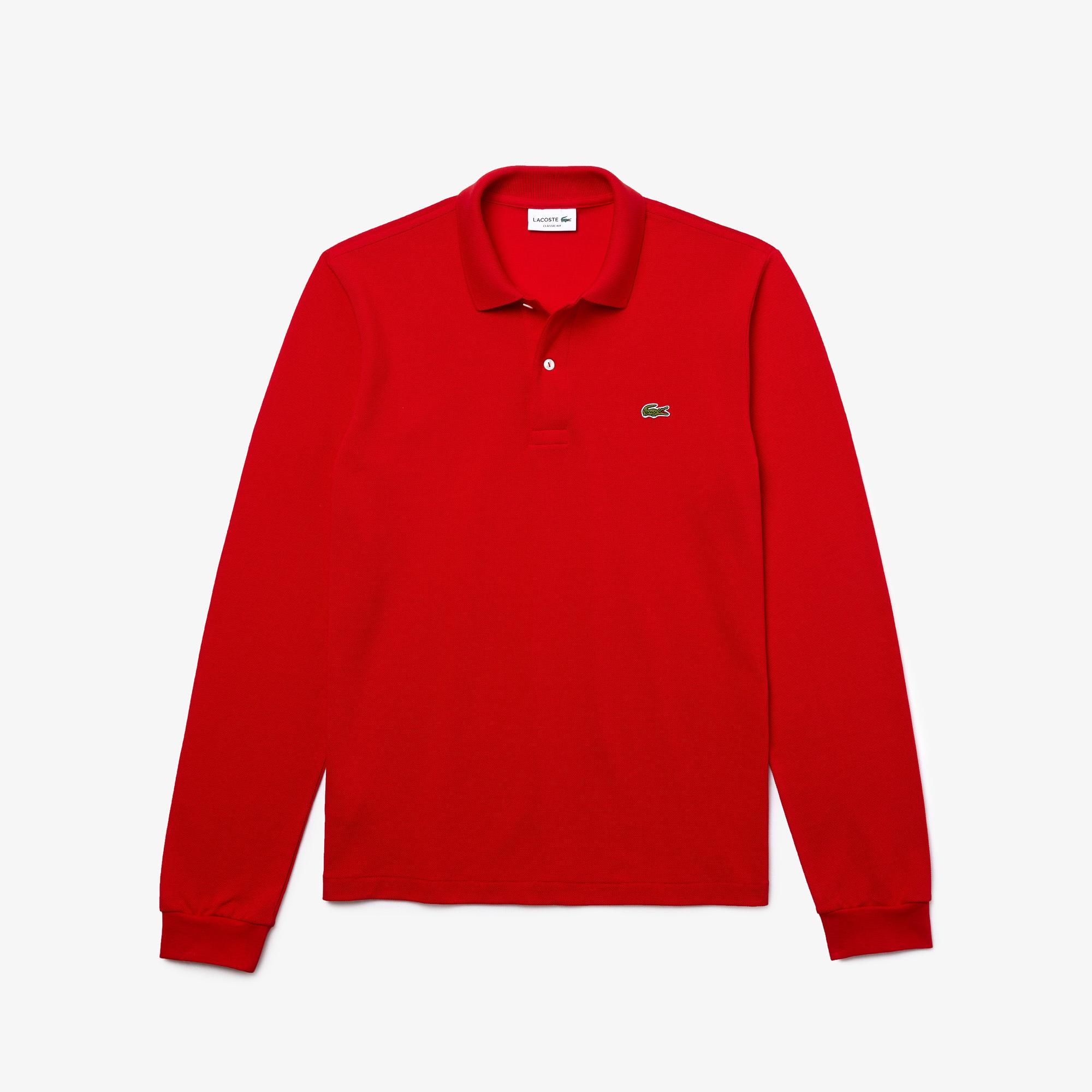 Lacoste Men's Long Sleeve Classic Fit L.13.12 Polo