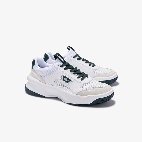 Lacoste Men's Ace Lift Colourblock Leather Reflective Sneakers