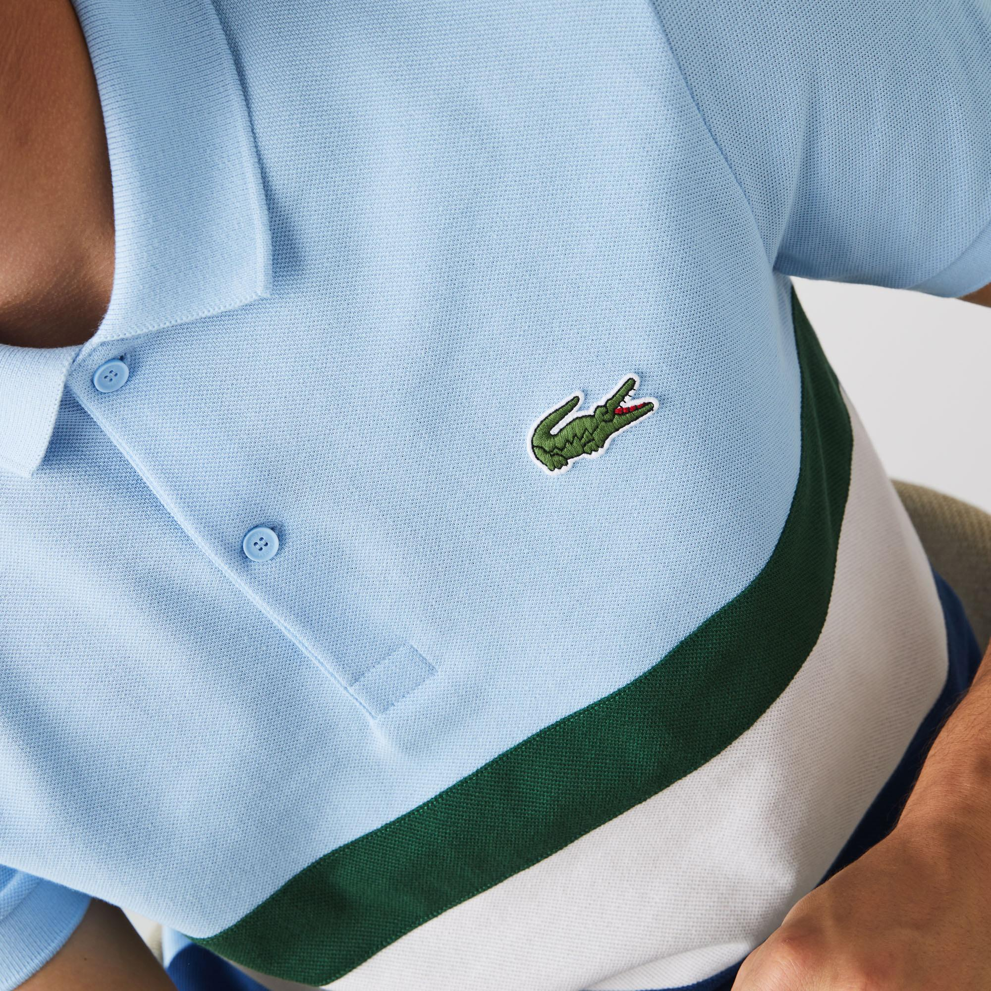 Lacoste Men's Regular Fit Colorblock Cotton Piqué Polo