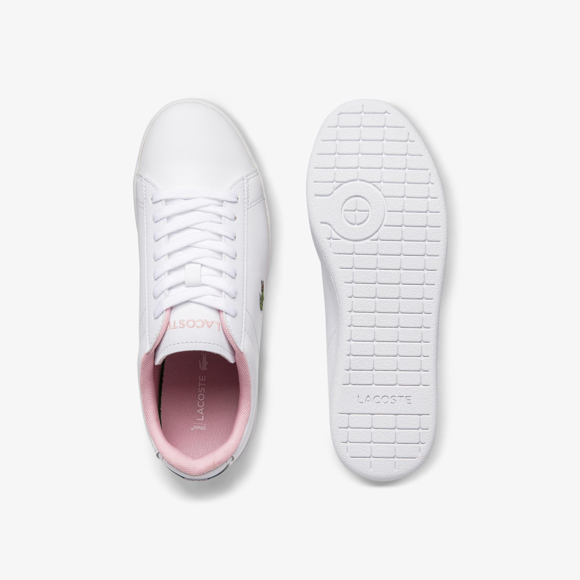 Lacoste Women's Carnaby Evo Leather and Synthetic Sneakers