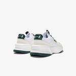 Lacoste Women's Ace Lift Leather and Suede Sneakers
