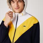 Lacoste Men's Lightweight Colorblock Hooded Jacket