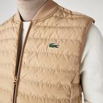 Lacoste Men's Lightweight Foldable Water-Resistant Puffer Coat