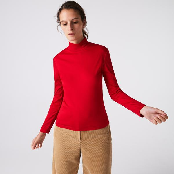 Lacoste Women's Cotton Turtleneck