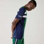 Lacoste Men's SPORT Colorblock Breathable Piqué Tennis T-shirt